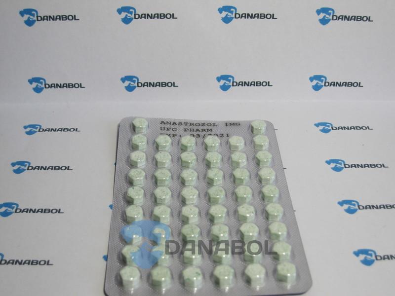 Анастрозол UFC PHARM (50 tab/1 mg)