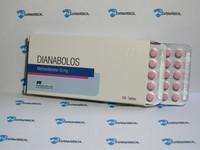 Метандиенон DIANABOLOS 10 (Pharmacom 10mg 100tab, Молдова)