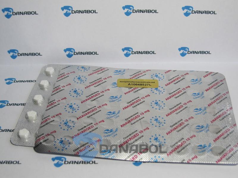 Оксандролон Anavarged EPF(100таб 10мг Молдова)