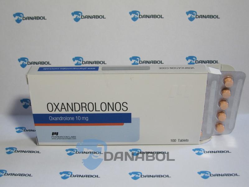 Оксандролон OXANDROLONOS 10 (Pharmacom 10mg 100tab, Молдова)