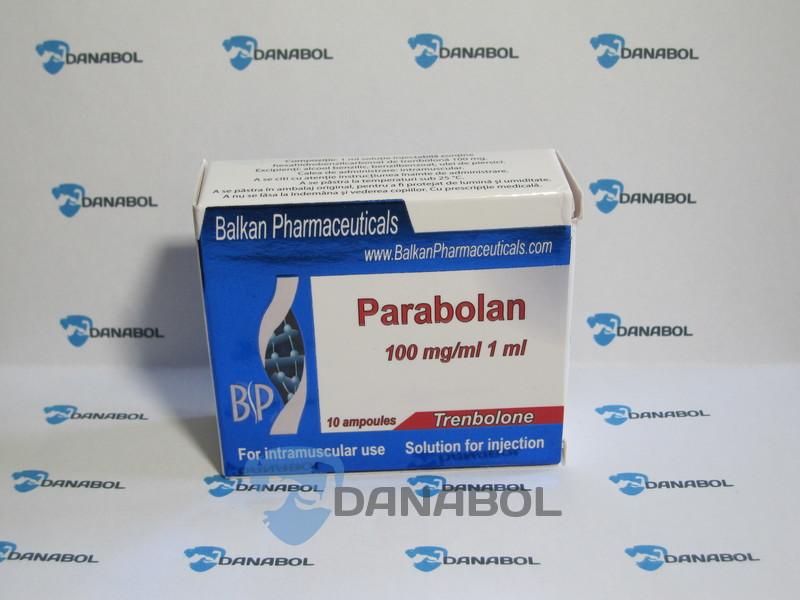 Параболан (Balkan Pharmaceuticals 100 мг/мл 10 ампул, Молдова)