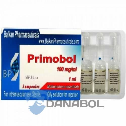 Примоболан Primobol (Balkan Pharmaceuticals 100 мг/мл 10 ампул, Молдова)